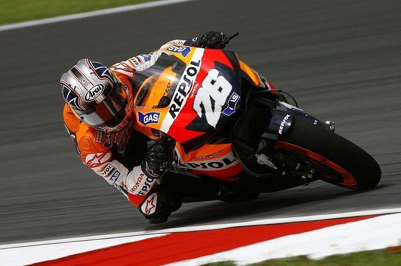 Qualifying MotoGP: Pedrosa im letzten Abdruck