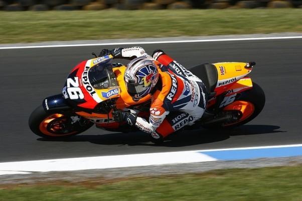 Qualifying MotoGP: Pedrosa und Rossi schlagen Stoner