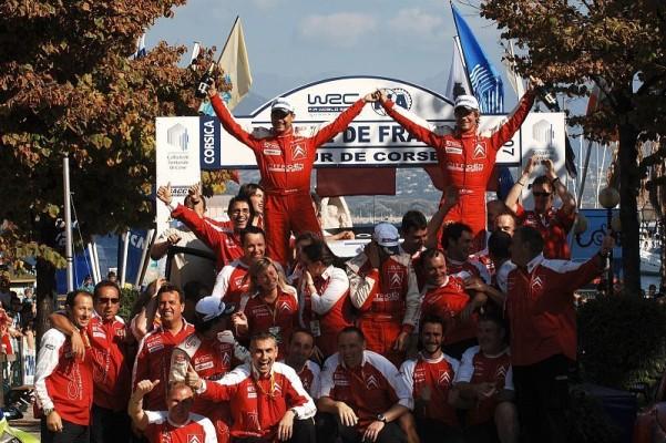 Rallye Frankreich, Tag 2: Loeb siegt souverän
