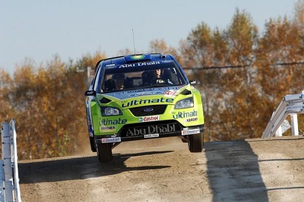 Rallye Japan, Tag 1: Tag der Finnen