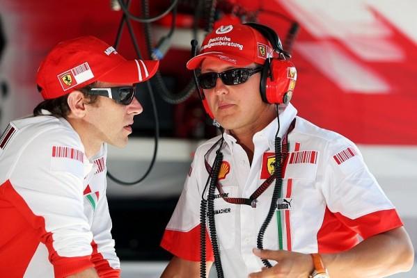 Schumacher im F2007: Erste Ausfahrt im aktuellen Auto