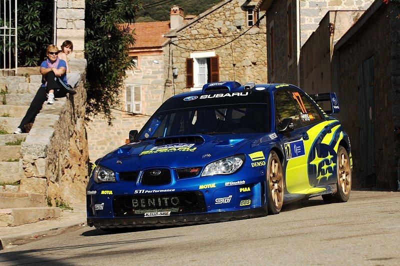 Subaru vor Japan: Endlich wieder Schotter