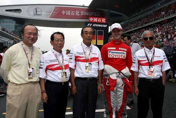 Toyota und Brasilien: Schumachers Abschiedsvorstellung