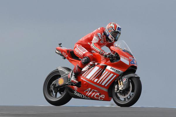 Warm-up MotoGP: Stoner schlägt zurück