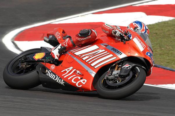 2. Training MotoGP: Stoner bleibt vorne