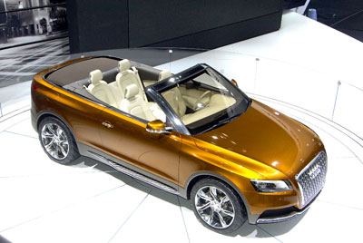 Audi stellt Studie Cross Cabriolet Quattro vor