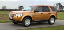Fahrbericht Land Rover Freelander TD4 SE: Fit für die linke Spur