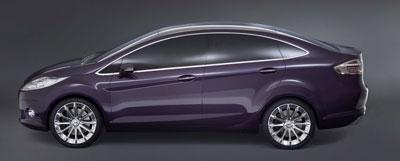 """Ford präsentiert Studie """"Verve"""" als Viertürer mit Stufenheck"""