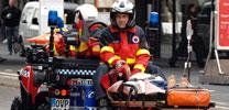 Geländegängiger Rettungsanhänger für Notfall-Quad