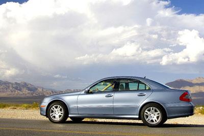Mercedes E 300 Bluetec: Sauberer Diesel für Europa