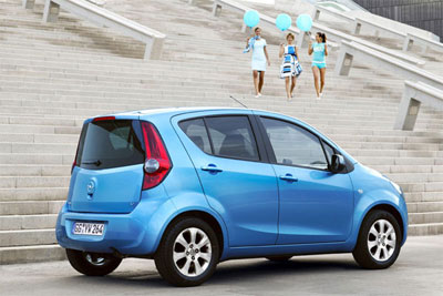 Neuer Opel Agila mit niedrigem CO2-Wert