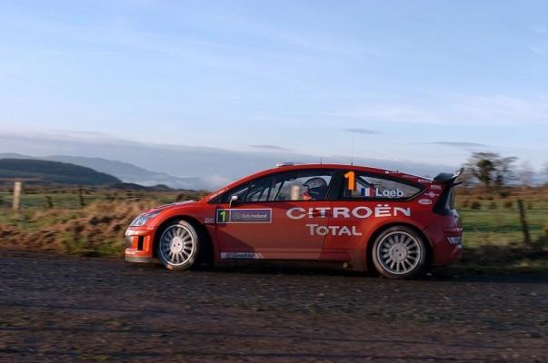 Rallye Irland, Tag 1: Gute Aussichten für Loeb