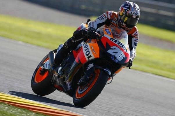 Rennen MotoGP: Pedrosa siegt und wird WM-Zweiter
