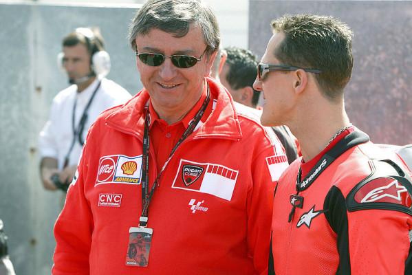 Schumacher, Spies, Berger, Bou, Sanz: Wenn prominente MotoGP fahren