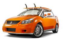 Suzuki SX4: Kalifornische Cabrio-Studie