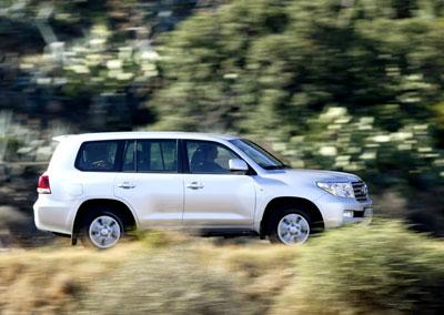 Toyota präsentiert: Land Cruiser V8