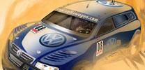 Volkswagen entwickelt Touareg TDI für die Baja 1000