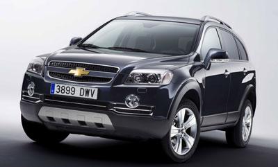 Chevrolet präsentiert Captiva Sport
