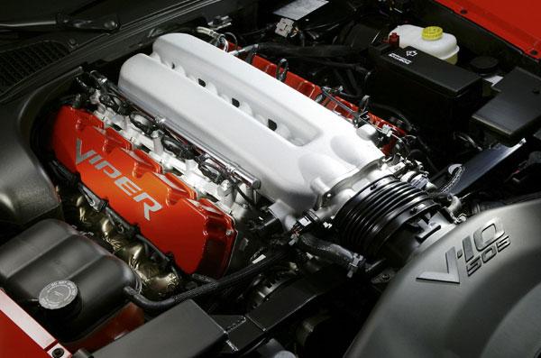 Dodge Viper- V10-Motor