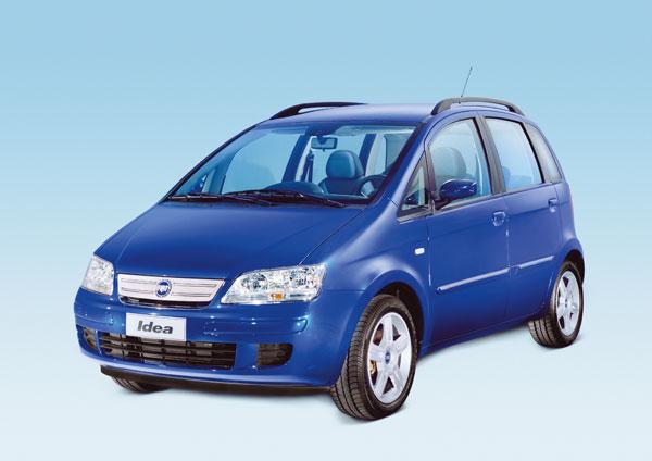 Fiat Idea - Frontansicht