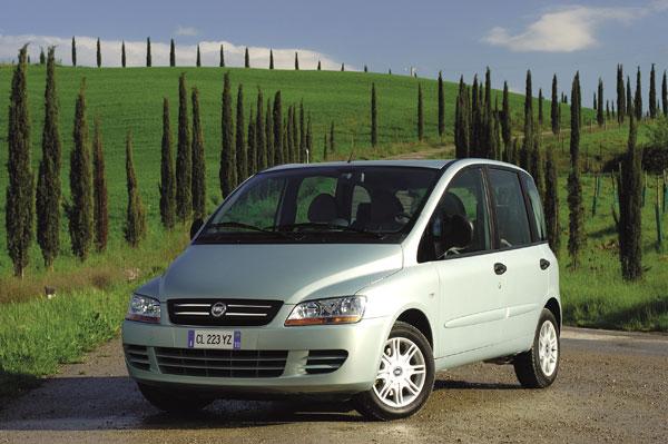 Fiat Multipla - Frontansicht