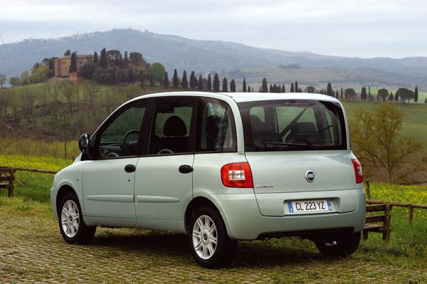Fiat Multipla - Heckansicht