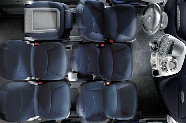 Fiat Multipla - Innenraum