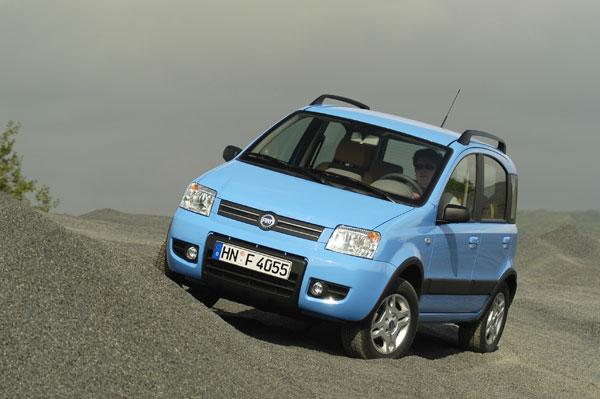 Fiat Panda 4x4 - Frontansicht