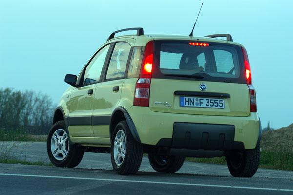 Fiat Panda 4x4 - Heckansicht