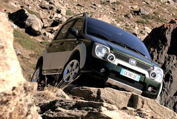 Fiat Panda Cross - Frontansicht