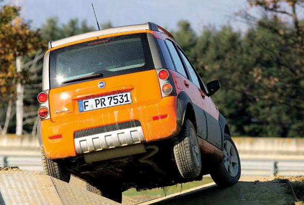 Fiat Panda Cross - Heckansicht