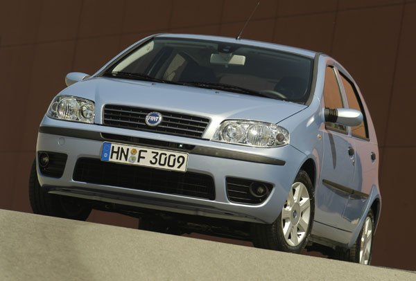 Fiat Punto Start - Frontansicht