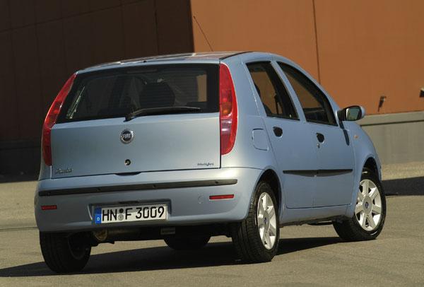 Fiat Punto Start - Heckansicht