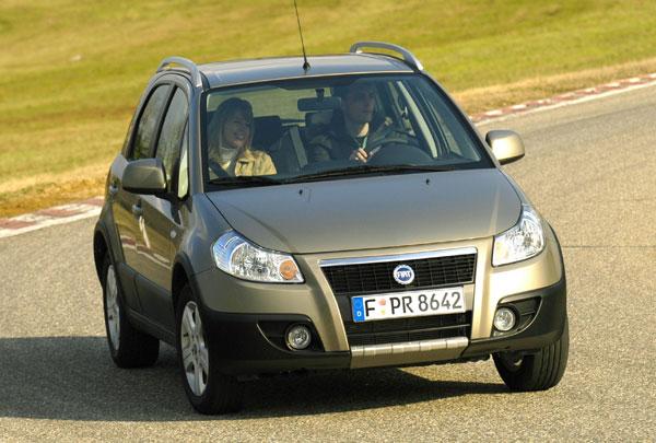 Fiat Sedici - Frontansicht