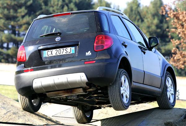 Fiat Sedici - Heckansicht