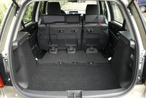 Fiat Sedici - Kofferraum