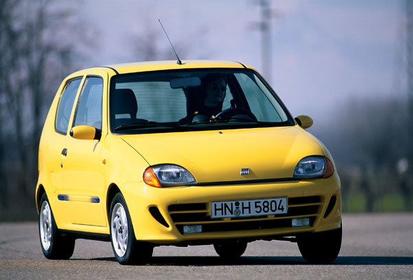 Fiat Seicento - Frontansicht