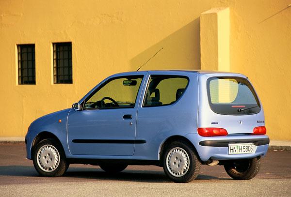 Fiat Seicento - Heckansicht