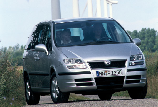 Fiat Ulysse - Frontansicht