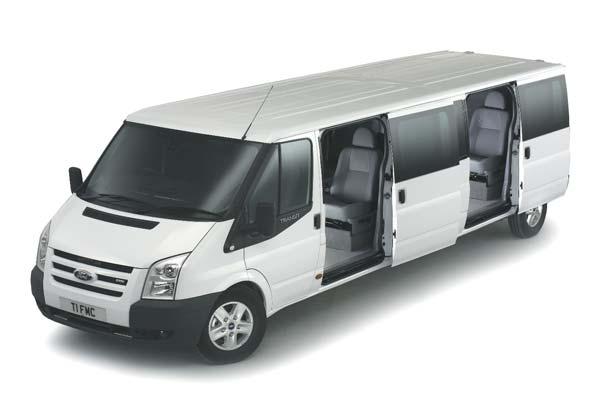 Ford Transit XXL: 7,4 Meter langer Luxusliner