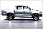 Könnte ab Oktober 2005 auch für Freizeit-Kunden interessant werden: Toyota Hilux Double Cab