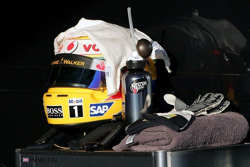 Lewis Hamilton: Zwischen Pause und Training