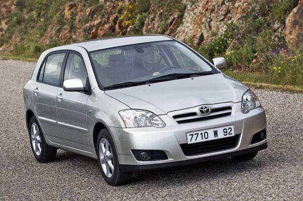 Toyota Corolla - Frontansicht