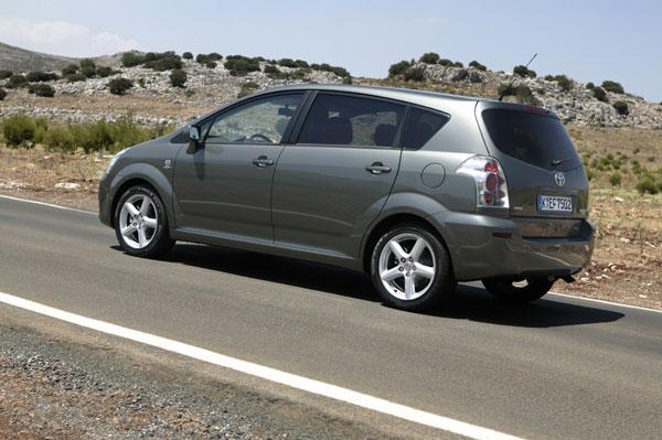 Toyota Corolla Verso - Heckansicht