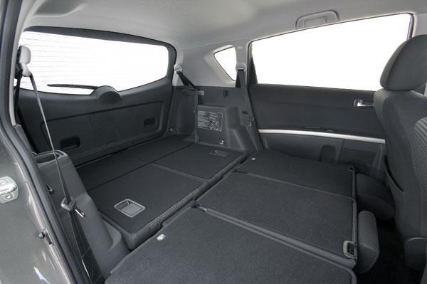 Toyota Corolla Verso - Laderaum