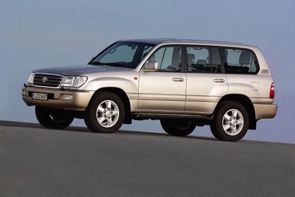 Toyota Land Cruiser 100 - Frontansicht
