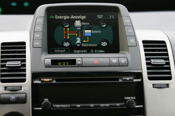 Toyota Prius - Energieanzeige