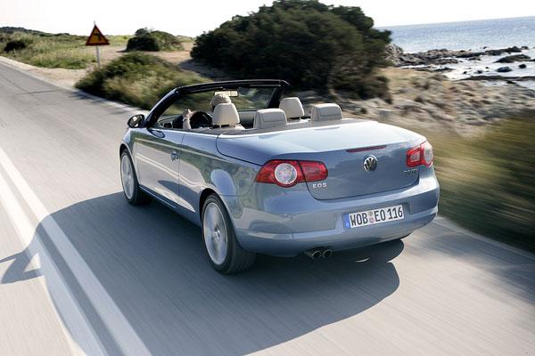 VW Eos - Heckansicht