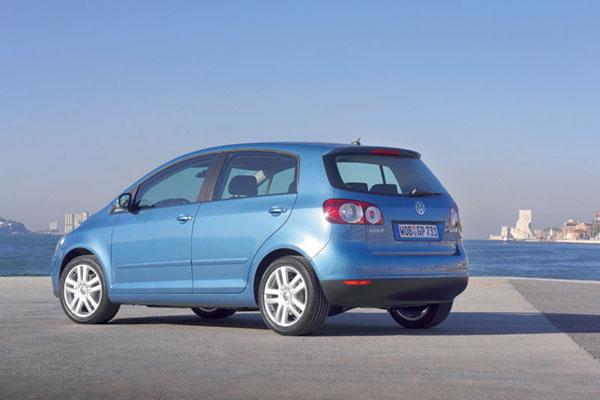 VW Golf Plus - Heckansicht