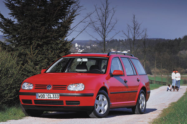VW Golf Variant - Frontansicht